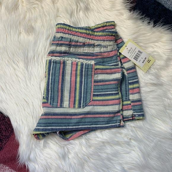 Rewind Pants - [Rewind] Sweet Woven Crochet Short